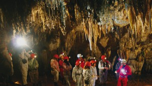 El Soplao. El Soplao Cave. 10º C.