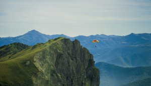 I'm free! Hang gliding at the Picos de Europa.